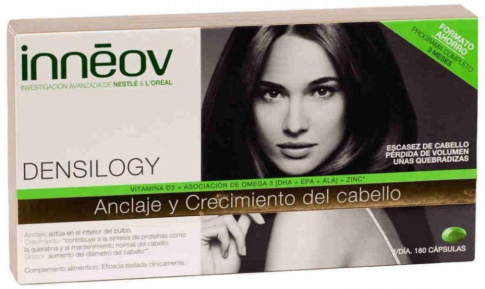 Comprar Innéov Densilogy en Gran Farmacia Andorra es un producto especialmente pensado para las mujeres cuyo cabello ha perdido grosor y volumen. También está dirigido a aquellas con uñas quebradizas o que se abren.