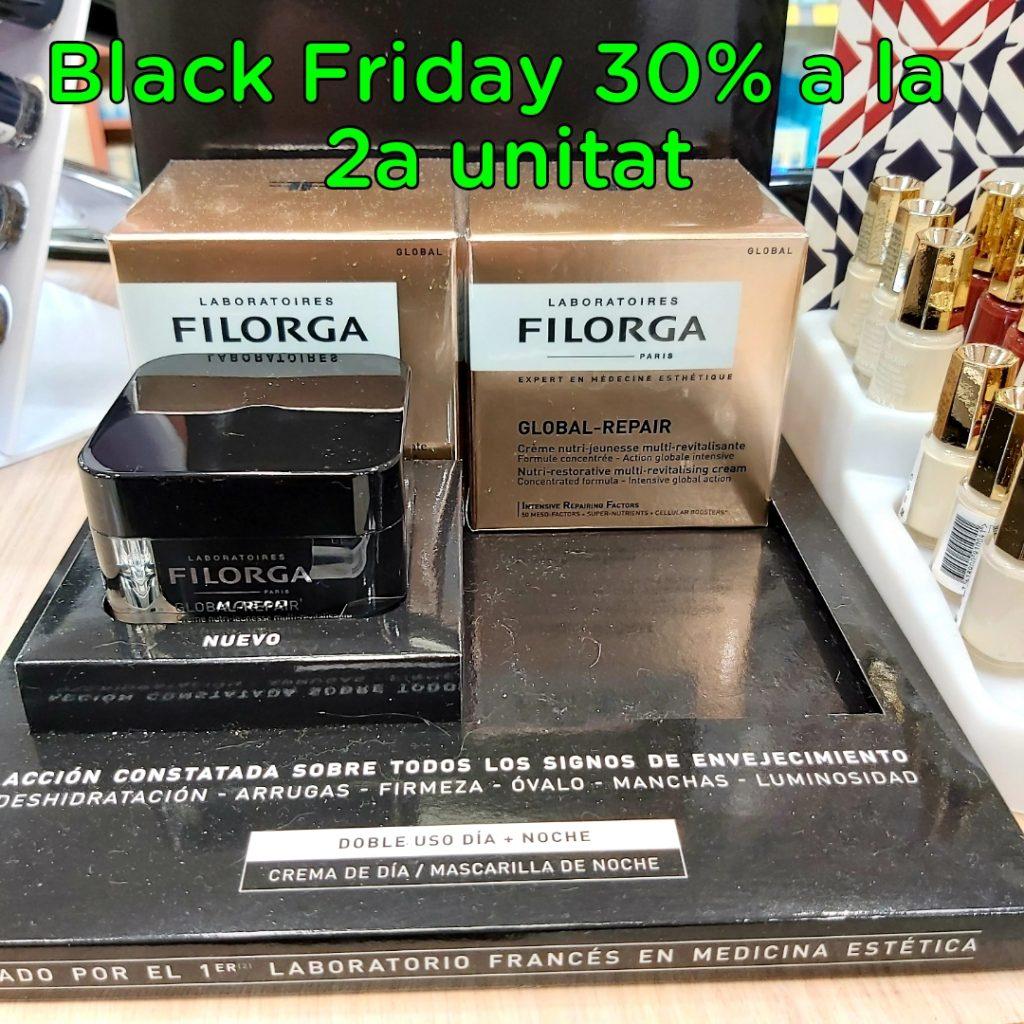 Farmacia Central Andorra Aprovecha el Black Friday 2019 el momento perfecto para hacerte con los productos de FILORGA al mejor precio de ANDORRA 30% de descuento en la 2ª unidad.